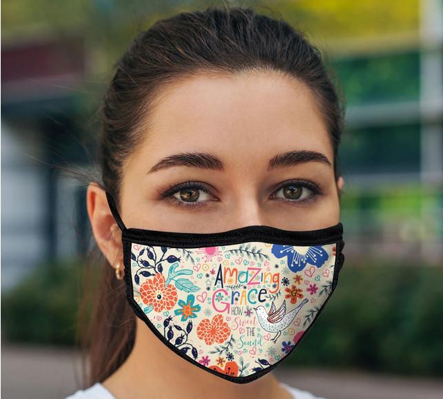 Amazing grace mask