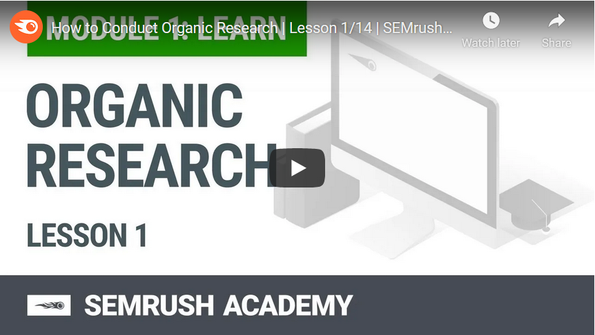 Organic Research Lesson 1 image