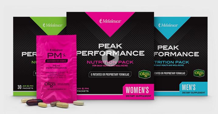 Peak Performance packs