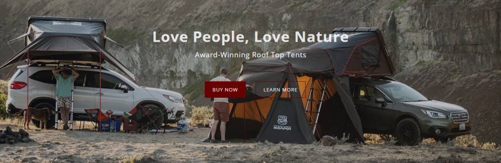 Roof Top Tents In Use